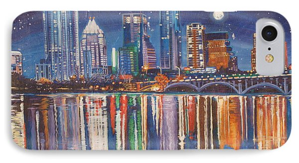 Reflecting Austin Phone Case by Suzanne King