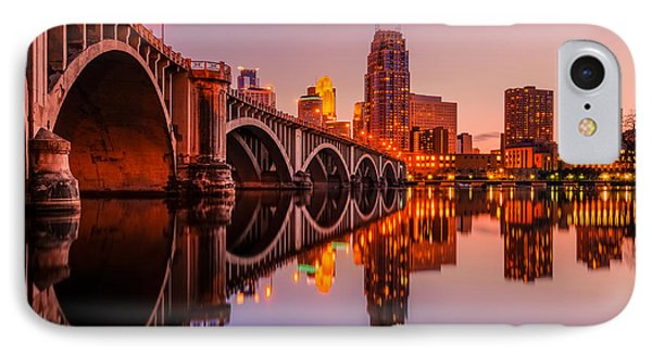 Reflecting Beauty Minneapolis Mn IPhone Case