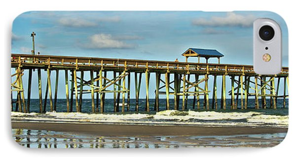 IPhone Case featuring the photograph Reflection Pier by Paula Porterfield-Izzo