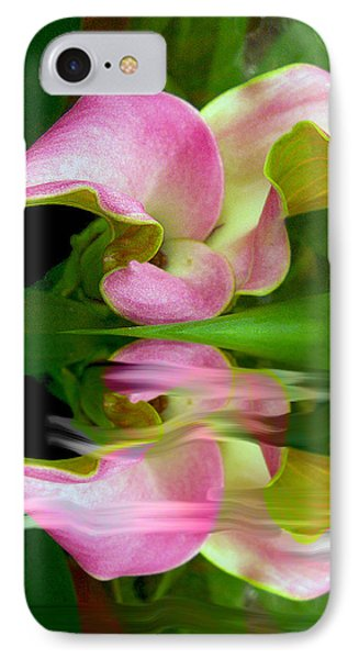 Reflecting Lily IPhone Case