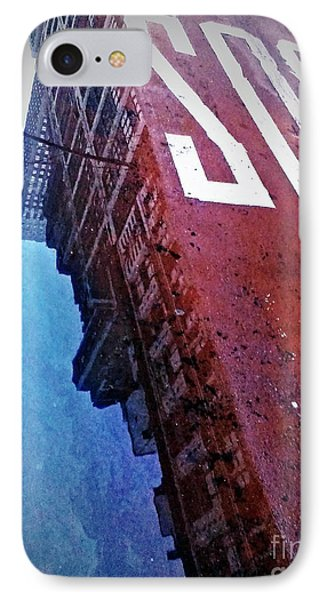 IPhone Case featuring the photograph Reflecting On City Life by James Aiken