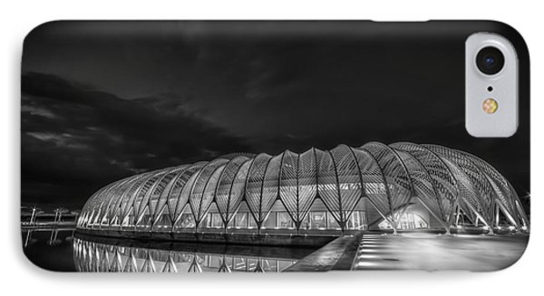 Reflecting The Future-bw IPhone Case by Marvin Spates