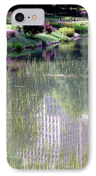 Reflection And Movement IPhone Case by Menachem Ganon