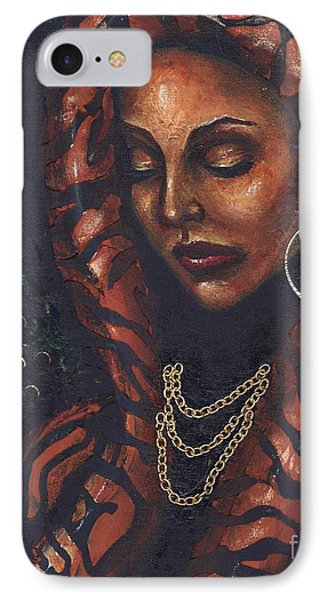 IPhone Case featuring the painting Reflection And Solitude by Alga Washington