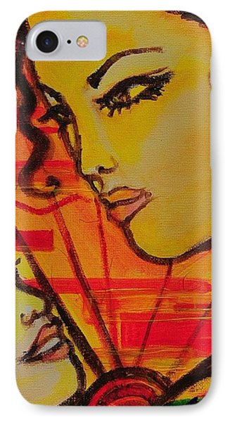 Reflection At Dawn Phone Case by Arianne Lequay