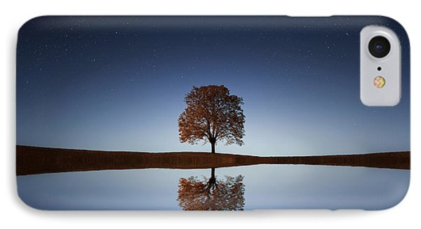 Reflection IPhone Case by Bess Hamiti