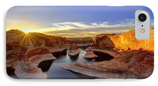 Reflection Canyon Sunrise IPhone Case