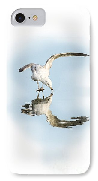 Reflection In Ice IPhone Case by Betty LaRue