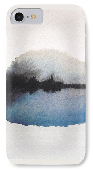 Reflection In The Lake IPhone Case by Vesna Antic