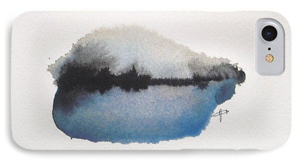 Abstract iPhone 7 Case - Reflection In The Lake by Vesna Antic