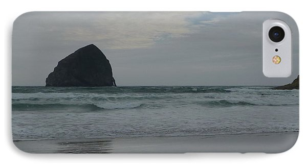 IPhone Case featuring the photograph Reflection Of Haystock Rock  by Susan Garren