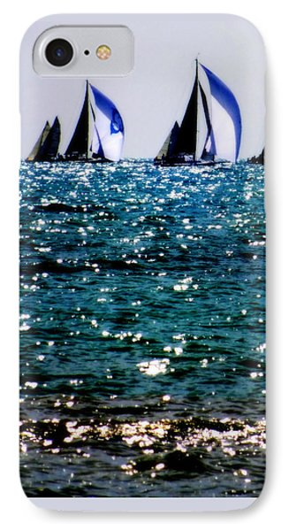 Reflection Of Sails Phone Case by Karen Wiles