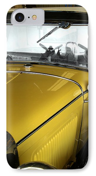 Reflection Of The Past IPhone Case by Bill Gallagher