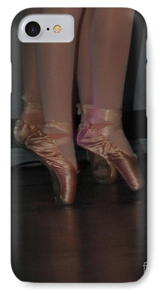 Reflection Of Two Dancers IPhone Case