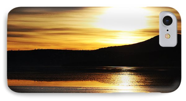 IPhone Case featuring the photograph Reflection On Lake Klamath by Jennifer Muller
