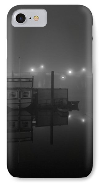 Reflection On Misty Thames  IPhone Case by Maj Seda