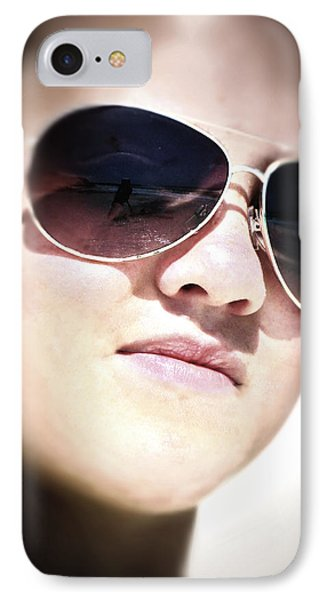 IPhone Case featuring the photograph Reflection by Pennie  McCracken