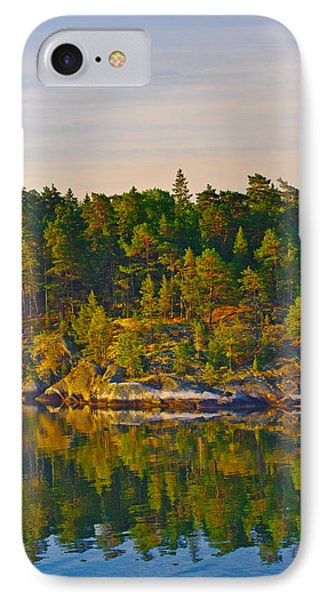 Reflections 2 Sweden IPhone Case by Marianne Campolongo