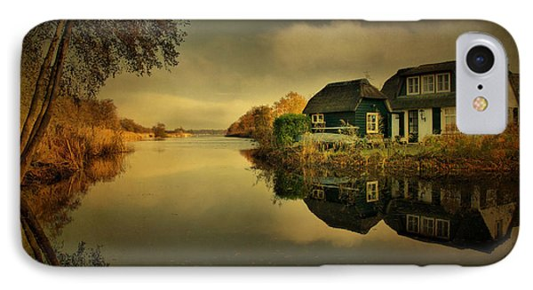 IPhone Case featuring the photograph Reflections by Annie Snel
