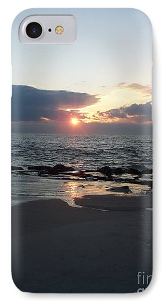 Reflections Cape May Point IPhone Case by Eric  Schiabor