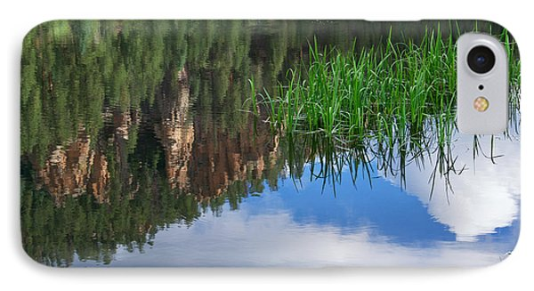 Reflections In A Mountain Pond IPhone Case