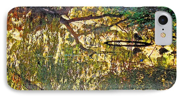 Reflections In Bayou Robert IPhone Case by Louis Nugent