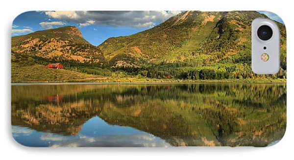 Reflections In Beaver Lake IPhone Case