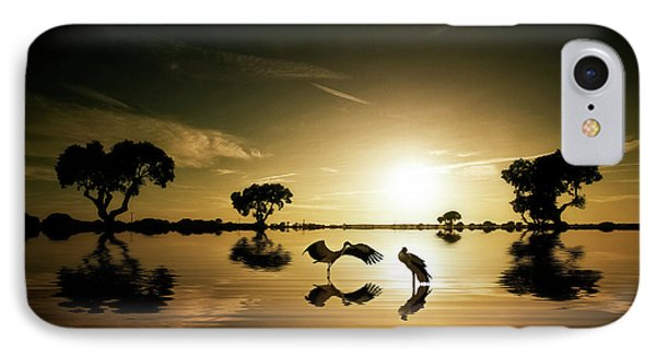 Reflections In The Lake IPhone 7 Case