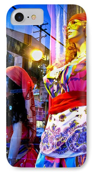 Reflections In The Life Of A Mannequin Phone Case by Colleen Kammerer