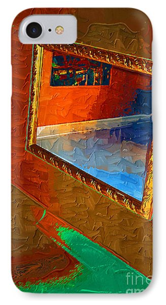 Reflections In The Mirror IPhone Case by Jonathan Steward