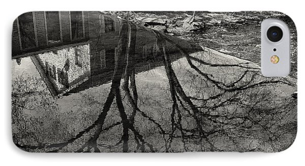 Reflections Northboro Dam IPhone Case by Patrick Garner