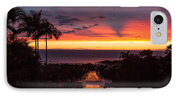 Sunset After Rain IPhone Case by Denise Bird