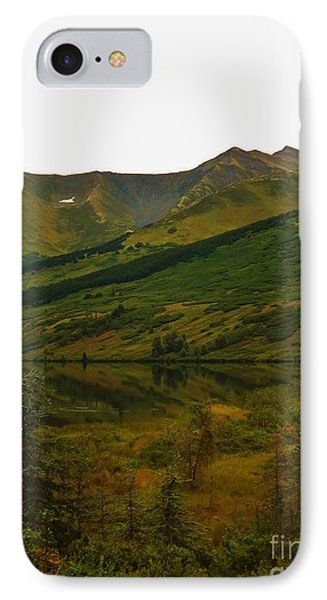 IPhone Case featuring the photograph Reflections Of Alaska's Spring by Brigitte Emme