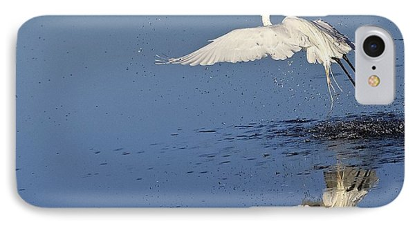Reflections Of An Egret IPhone Case