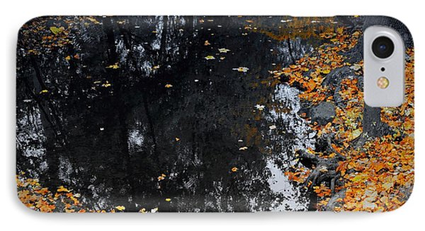 IPhone Case featuring the photograph Reflections Of Autumn by Photographic Arts And Design Studio