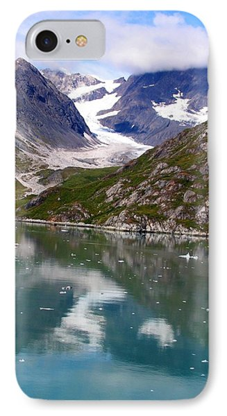Reflections Of Blue And Green In Alaska IPhone Case