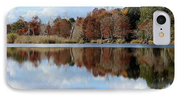 IPhone Case featuring the photograph Reflections Of Color by Debra Forand
