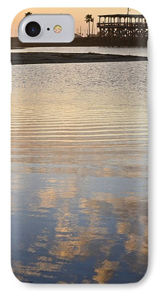 Reflections Of Dusk IPhone Case by Allen Sheffield