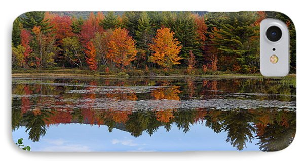 Reflections Of Fall IPhone Case by Kerri Mortenson