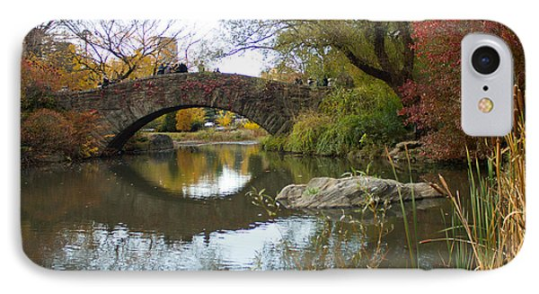 Reflections Of Gapstow Bridge IPhone Case