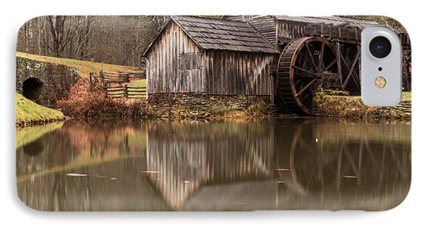 Reflections Of Mabry Mill IPhone Case by Robert Loe