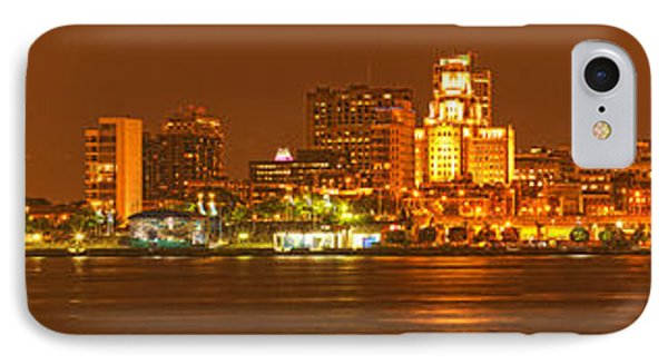 Reflections Of Philadelphia IPhone Case by Adam Jewell