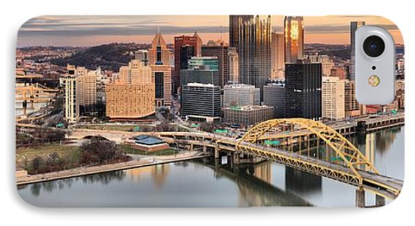 Reflections Of Pittsburgh Pennsylvania IPhone Case