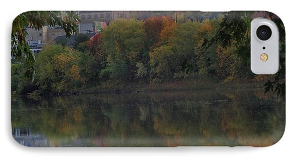 Reflections Of Pittston IPhone Case by Christina Verdgeline