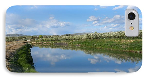 Reflections Of Spring IPhone Case by Mike  Dawson