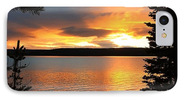 Reflections Of Sunset IPhone Case by Athena Mckinzie