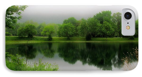 Reflections Of The Shire IPhone Case by Mark Miller