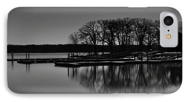 IPhone Case featuring the photograph Reflections Of Water by Miguel Winterpacht