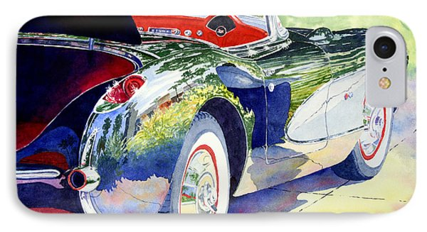 Reflections On A Corvette IPhone Case