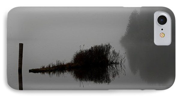 Reflections On A Lake IPhone Case by Rich Collins